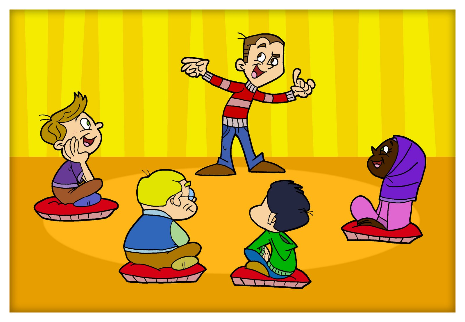 Знакомство детей, родителей и учителей друг с другом