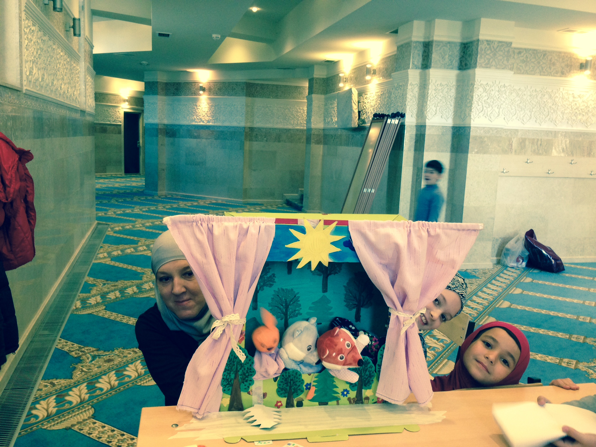 Кукольный театр на наших занятиях