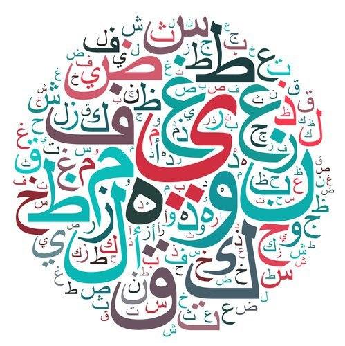 Шаблоны для рисования арабских букв!